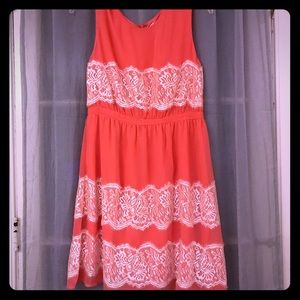 ModCloth Dresses - Coral Modcloth Dress Size Large